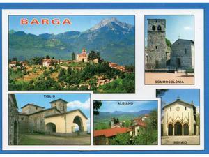 Italia Barga - Lucca vedute con frazioni