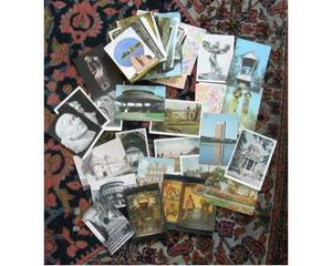 Lotto 121 cartoline russe Vilnius paesaggi sculture altro