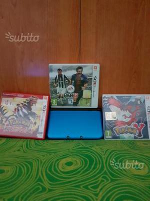 Nintendo 3ds xl +giochi