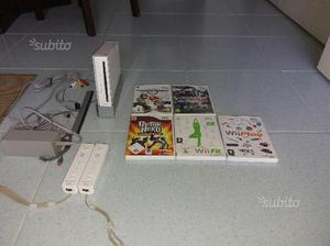 Nintendo Wii 6 giochi Pedana fit Chitarra