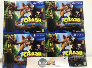 PS4 Slim 500GB+il gioco di Crash a soli 290