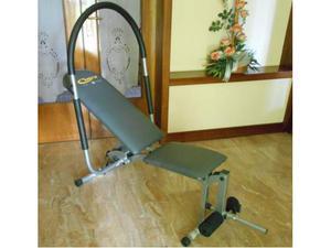 Panca per addominali e rinforzo gambe