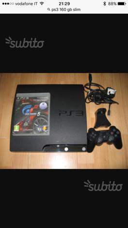 Ps3 slim 160gb GT e FIFA17