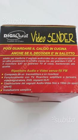 Trasmettitore audio e video