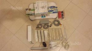 WII Console con accessori e giochi