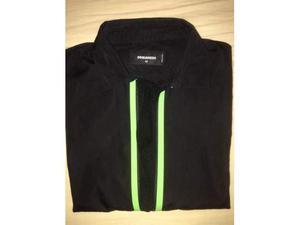 Camicia Dsquared2 Uomo Nera Taglia 42