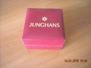 JUNGHANS scatola box per orologio