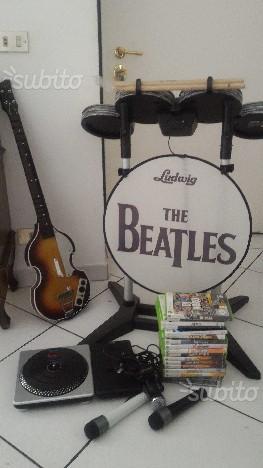 Kinect chitarra batteria giochi Xbox 360 e altro