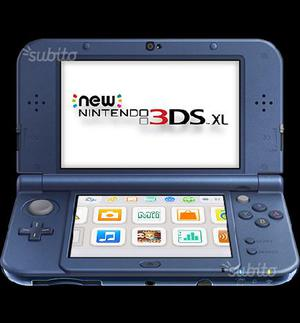 New Nintendo 3DS XL Con Pokemon Luna, Rubino e Y