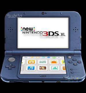 New Nintendo 3DS XL Con Pokemon Luna, Rubino e Y