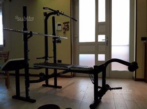 Panca fitness palestra body building bm 490