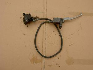 Pompa, pinza e tubo freno anteriore Aprilia Habama 50