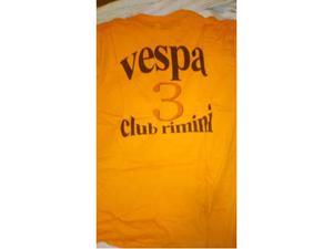 Vendo T shirt Vespa Raduno vari tipi
