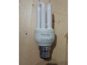 12 lampadine philips 11W basso consumo BA22D