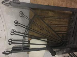 Cancello d ingresso in ferro battuto