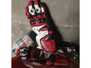 Guanti in pelle per moto Yamaha