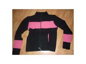 Maglia rosa e nera taglia s