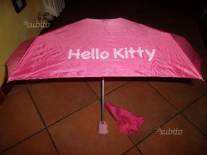 Ombrello da borsa hello kitty