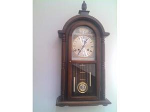 Orologio a pendolo epoca antiquariato oggetti legno antico