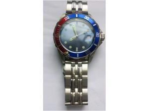 Orologio polso blu uomo Siecle Diving crono tempo data