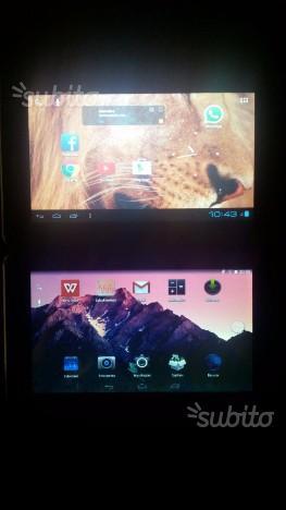 Tablet Android perfettamente funzionanti