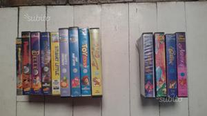 9 videocassette walt disney originali + 4 regalo