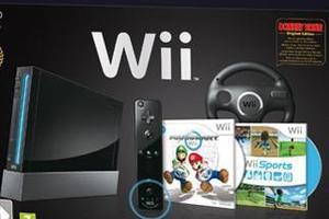 CONSOLE Nintendo Wii (Nera) con Wii Sports