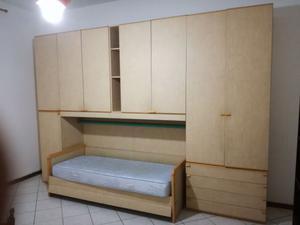Camerina completa di 2 reti e armadio