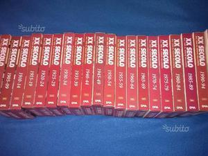Collezione completa 20 VHS storia XX secolo
