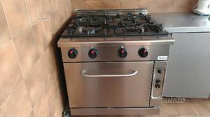 Cucina professionale a gas