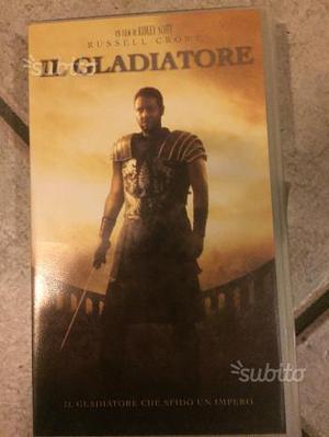 Il Gladiatore VHS originale
