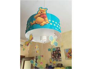 Lampadario e lampada da muro winnie the pooh