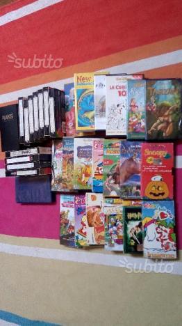 Lotto 35 Videocassette VHS Molte x Bambini