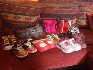Lotto scarpe bambina