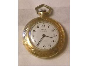 Orologio oro 750 pendente vintage donna apex 17 rubini