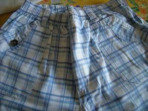 Pantaloncino scozzese per ragazzo 12 anni