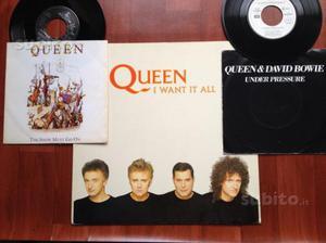 Queen singoli 45 giri e mix stampa tedesca