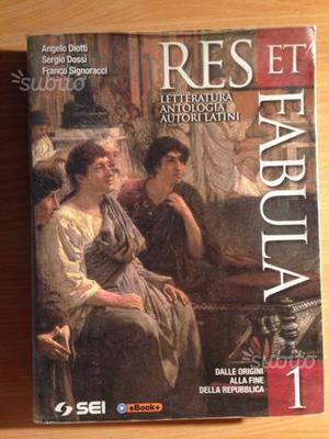Res et Fabula 1 ISBN: