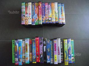"Set videocassette ""I Classici Disney"" e altri film"