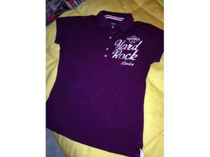 T-shirt polo hard rock london m