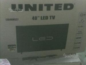 Tv led 40 pollici United