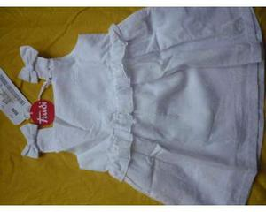 Vestitino da bambina, in puro cotone, marca Trudy