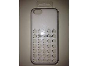 Apple Custodia Originale in Silicone iPhone 5c Bianco.
