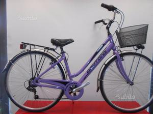 Bici donna city bike alluminio nuova