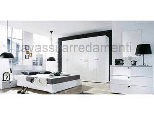 Camera da letto laccata bianca arredamenti tavassi