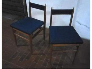 Coppia originali sedie vintage, anni 60