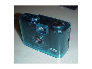 Macchina fotografica 35mm azzurra fotocamera foto fotografia