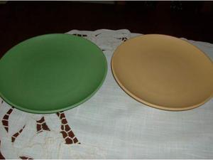 Mulino bianco - 2 piatti in ceramica - - cm 26 coll