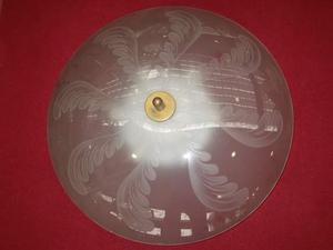 N. 1 Plafoniera di cristallo degli anni â€(TM)60. FONTANA