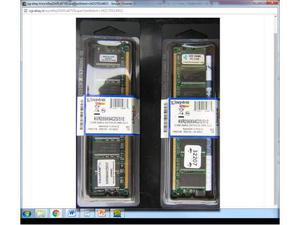 N. 2 schede memoria ram KINGSTON per desktop